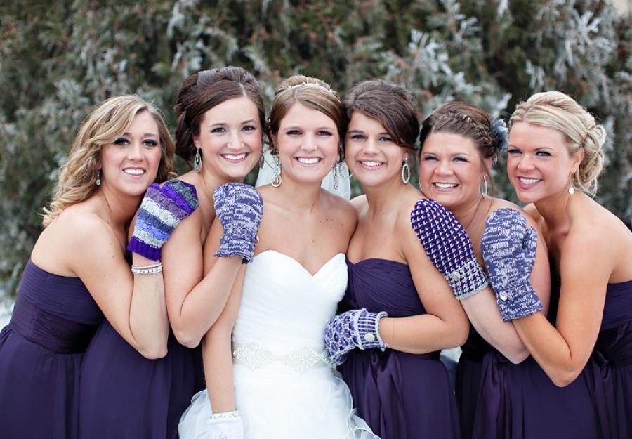 Подбираем свадебный образ подружки невесты